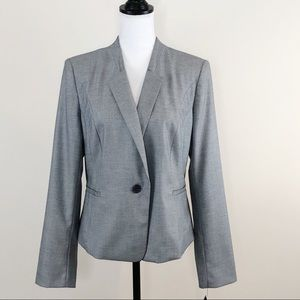 Halogen Suit Jacket Blazer Light Gray Size 14 NWT